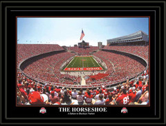 Ohio State Poster The Horseshoe A Salute To Buckeye Nation no mat