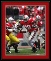 Ohio State Chris Wells vs Michigan 2008 Color Photo