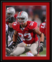 Ohio State James Laurinaitis Color Photo