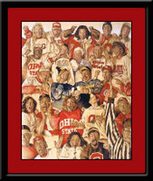 Ohio State In a Stew at the Shoe Art Print