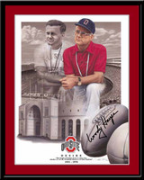 Woody Hayes Football Print Desire