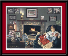 Buckeye Dreams Ohio State Limited Edition Print