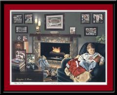 Buckeye Dreams Ohio State Limited Edition Print
