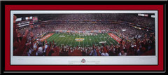 Ohio State Buckeyes National Champions Panoramic Poster