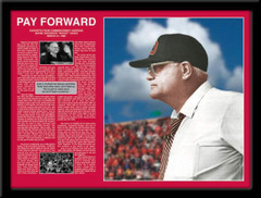 Woody Hayes Pay Forward Commencement Address framed picture