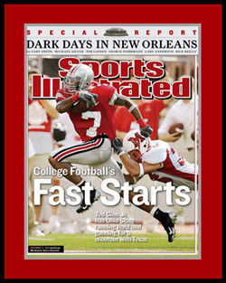 Ted Ginn Jr. Sports Illustrated Cover Picture