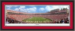 Georgia Bulldogs Sanford Stadium Framed Panoramic Poster