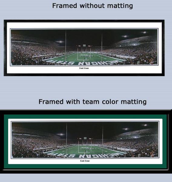 Michigan State Spartan Stadium End Zone Panoramic Poster