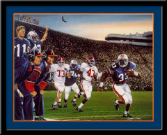 Auburn Tigers The Perfect Beginning Framed Picture