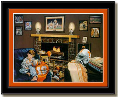 Tennessee Football Traditions II Framed Art Print