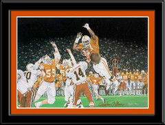 Orange Crush Tennessee Volunteers Framed Poster