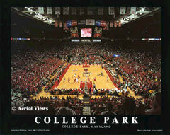 Maryland Basketball Framed Photo Poster College Park