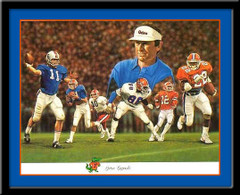 Florida Gators Football Legends Framed Picture