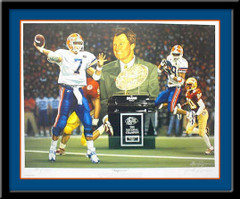 Superior Florida Gators 1996 Sugar Bowl Champions Poster