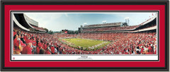 Georgia Bulldogs Sanford Stadium Panoramic Poster