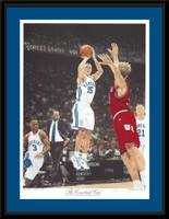 Kentucky Basketball The Comeback Cats Framed Art Print