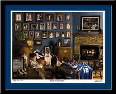 Kentucky Wildcat Dreams Limited Edition Print