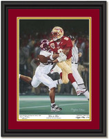 Wire to Wire Sugar Bowl Championship Autographed Framed Picture