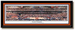 Syracuse Orangemen Panoramic Basketball Poster