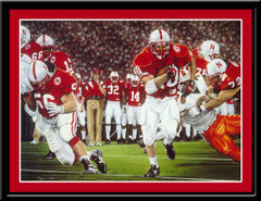 Nebraska Football Finished Business Framed Print