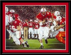 Nebraska Football Finished Business Framed Print