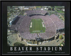 Penn State Beaver Stadium Aerial Photo Poster
