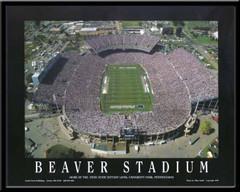 Penn State Beaver Stadium Aerial Photo Poster