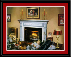 Alabama Crimson Dreams Framed Picture By Hess