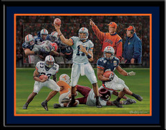 Where Eagles Dare Auburn University Football Poster