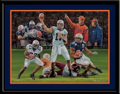 Where Eagles Dare Auburn University Football Poster