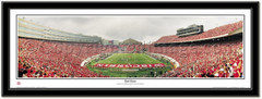 Camp Randall Stadium End Zone Panoramic Poster