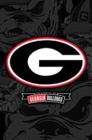 Georgia Bulldogs Official Logo Framed Poster