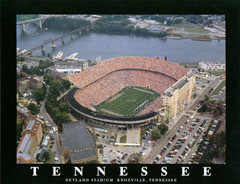 Tennessee Neyland Stadium Aerial Photo Poster