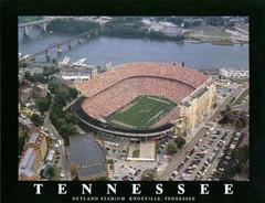 Tennessee Neyland Stadium Aerial Photo Poster