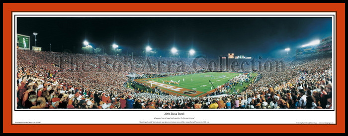 Texas Longhorns Don't Mess with Texas 2005 Rose Bowl