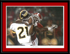 The Catch Alabama Tyrone Prothro Framed Poster