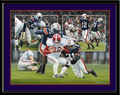 Sack on the Plains Auburn Tigers Football Picture