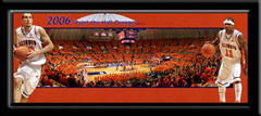Illinois Basketball Paint the Hall Orange With Players Picture