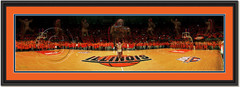 Illinois Chief Illiniwek With Ghosts Panoramic Picture