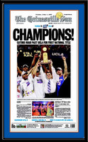 Florida Gators Basketball The Gainesville Sun 2006 Poster