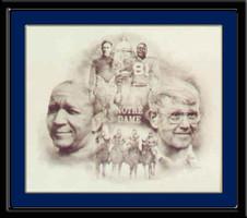 Notre Dame Legends Print