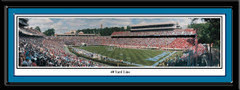 UNC Tar Heels 40 Yard Line Football Panoramic Poster