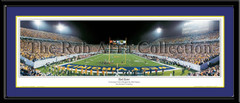 West Virginia Panoramic Picture Mountaineer Field End Zone