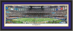 Louisiana State Panoramic Print 2007 Allstate Sugar Bowl
