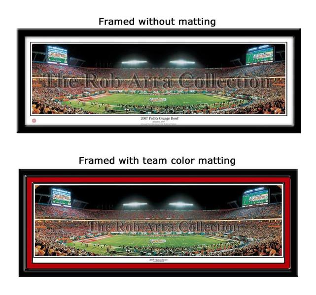 Louisville Cardinals 2007 Orange Bowl Champions Panoramic Poster