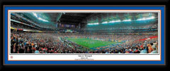 Gators Triumph Florida Gators Framed Panoramic Poster matted