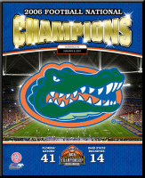 Florida Gators 2006 Football National Champions Poster
