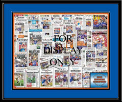 Florida Gators Headlines Front Page Collage 2006 Football Poster