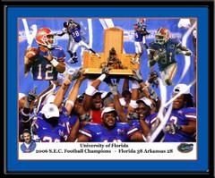Florida Gators 2006 SEC Champions Framed Poster