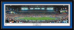 Gators Game of the Century Framed Panoramic Poster